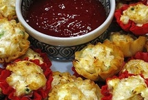 hors d'oeuvres ✿ appetizers ✿ Potluck n Party idea's
