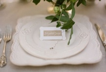 table settings & napkins / by Stella Huang