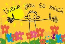 Thank You 's  ツ / Different types of Thank You's and things to be Thankful For :)