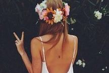 Bohemian Style / The hair, the clothing, the home decor. / by courtney grace
