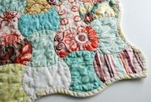Beautiful Quilts / Fun and colorful ideas for quilters.  You don't have to be a grandma to love quilting! / by Rachel @ SunScholars