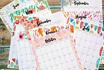 Printables (free) / by Chris Nease | Celebrations At Home
