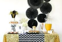 New Years Eve / Ring in the New Year with party ideas that include bubbles, sparkles, and glamour.  / by Chris Nease {Celebrations At Home}