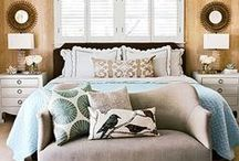 Dream Home: Bedrooms / Design inspiration for bedrooms. Sweet dreams!