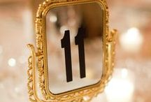 table numbers / by Chris Nease {Celebrations At Home}