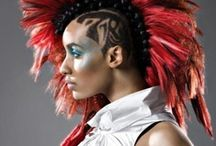 Aurora Inspiration / Inspiration for my Elvish hitwoman, Aurora.  Cyber-Elves, Yakuza, and the world of tomorrow!
