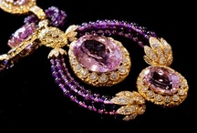"""My Namesake - Amethyst Jewelry / Purple Amethyst has been highly esteemed throughout the ages for its stunning beauty and legendary powers to stimulate, and soothe, the mind and emotions.  It is a semi-precious stone in today's classifications, but to the ancients it was a """"Gem of Fire,"""" a Precious Stone worth, at times in history, as much as a Diamond.  It carries the energy of fire and passion, creativity and spirituality, yet bears the logic of temperance and sobriety.  / by Amethyst Cheairs"""