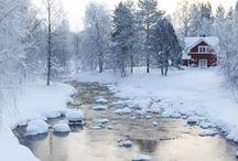 """Winter / """"A beautiful sight, we're happy tonight, walkin' in a winter wonderland."""""""