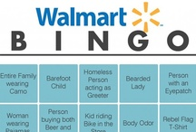 Attention Walmart Shoppers / Reasons I don't shop at Walmart ... seriously ... / by Jean Heavrin