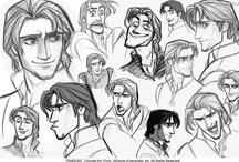 Concept Art / Inspiring concept art featuring characters, props, environments, etc.