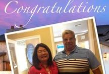 Happy Lennar Homeowners / Congratulating our homeowners on purchasing their dream homes, Lennar community events, and more!
