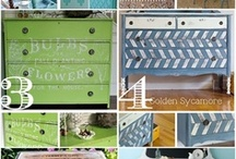 i {REDO} - Dresser Makeover / This is a board all about refinishing an old, somewhat ornate dresser. You can see more DIY's and furniture makeovers on {My Life Space Moments} @ ashleycamber.com