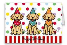 Golden Retriever Cartoons and Products