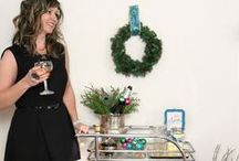 Girls Night In / Grab your girl friends and host a girls-night-in with these festive ideas. / by Chris Nease {Celebrations At Home}