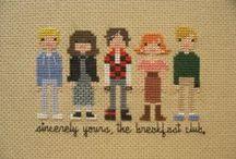 Cross stitching / by Bethanie Davis