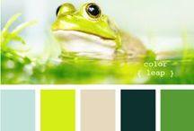 Be Inspired: Green / Green inspired home decor.
