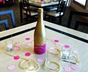 i {CELEBRATE} Champagne & Cupcakes Style / This is a collection of DIYs and decor inspiration for a champagne and cupcakes bridal shower or theme party!