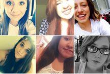 ♛ʝυѕт υѕ♛ / selfies. ootd. bam.