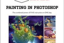 digital painting tutorials / great tips and ideas for digital artworks- illustrator and photoshop. / by Maryamhasan Ahmad