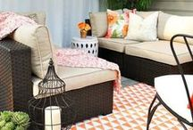 Outdoor Styling / outdoor living, outdoor entertaining, patio decor, deck decor