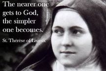St. Therese of Lisieux / by Kim