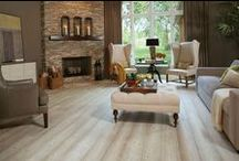 For the Love of Flooring / Inspiration to add timeless style to your room with both beautiful and beautifully functional floors.