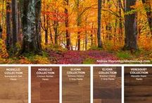 Autumn: Inspired Design / Red, golds, auburns, rusts, chocolates. Let this beautiful season of colors inspire your home style.