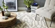 Accessorize the Floor / Add some extra personality to your stylish floors!