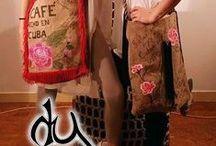 Burlap (yuta) bag & tote / burlap bags and totes in many colors