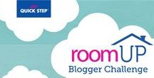 RoomUP Blogger Challenge / Ready to be inspired? Join us as we challenge four diverse bloggers to transform a room with Quick•Step floors. quickstepstyle.com/roomup
