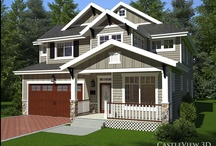 Renderings of exteriors / 3D renderings of exteriors that my company, CastleView 3D, has done