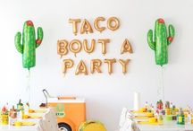 i love a party! / yep. I do!  Anytime, anywhere, anykind, any excuse~it's on!