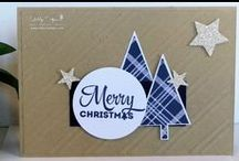 Christmas / Christmas projects - cards, gifts, trees etc. All products Stampin' Up!.