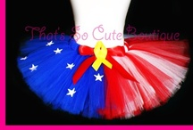 I Feel Pretty (Tutus) / I make tutus for my daughter for dance and Halloween. / by Jenna Bouza Salinas