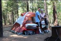 Going Camping (camp ideas) / Outdoors by the campfires, pitch a tent, etc. / by Jenna Bouza Salinas