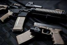 Guns and knives / Weapons, knives, guns / by Jonathan Tubbs