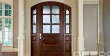 Wood Entry Doors In-Stock /  FRONT DOORS ALWAYS IN STOCK  Our large inventory of solid wood entry doors ranges from traditional to modern designs, and fit most standard openings (view all doors). We only sell prehung systems and  pre-finished systems to ensure the best value for our customers.  Wine cellar doors now in stock.