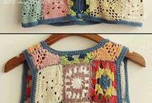Crochet clothes- Virkattuja vaatteita / by Sirpa Nerola