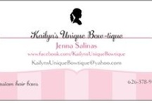 """Kailyn's Unique BOW-tique (bow shows) / Set up display ideas for craft shows and boutiques for my bow business, """"Kailyn's Unique Bowtique"""". I make handmade one-of-a-kind hairbows and headbands. Find me and LIKE at www.facebook.com/KailynsUniqueBowTique  / by Jenna Bouza Salinas"""