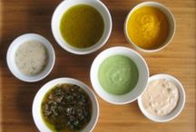 Food: Dressing, oils, dips, spices..