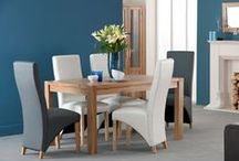 6 Seater Wooden Dining Table  / Mostly dining table sets are in browns. So a range in brown can easily match with any colour range. There are different designs of chairs and seats available. If you are keeping the dining table set in your dining room, then it must have a more formal look. However, because some people like to place their dining tables in their lounge, a casual wooden set would work for them. Dining Room Furniture, Modern, Contemporary and Cheap Dining Room Furniture.