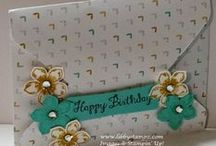 Envelope Punch Board / Projects made using Stampin' Up!'s Envelope Punch Board and using Stampin' Up! products