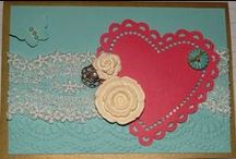 Vintage / Cards with a vintage look or feel. Antique type cards too. All products Stampin' Up!.