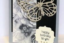 Birthday / Birthday cards made with Stampin' Up! products and suitable for any age or person. All products Stampin' Up!.