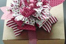 Gift Bow Die / Projects made using the Gift Bow Die from Stampin' Up!. All products Stampin' Up!.