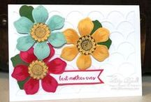 Mothers' Day / Cards and other ideas suitable for Mothers' Day. All products Stampin' Up!.