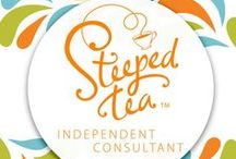 Get Tea Happy--Independent Steeped Tea Consultant / www.mysteepedteaparty.com/teahappy / by Amanda Clendenen