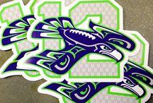 i love football / i love football. i love the Seattle Seahawks even more. I love pete carroll.