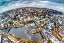 Spokane rising / My town, biggest city in Inland Northwest- four seasons, next door to Coeur d'Alene ID, and has a cool factor that's growing every day-