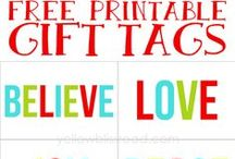 Christmas ~ Printables / by Kimberly Winters-Armstrong